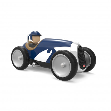 Racing Car Bleu