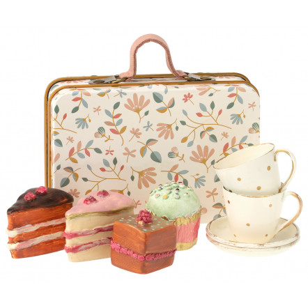 Valise de patisseries miniatures Maileg