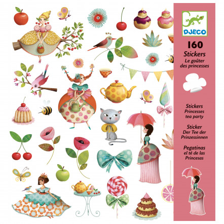 Le gouter des princesses - 160 stickers